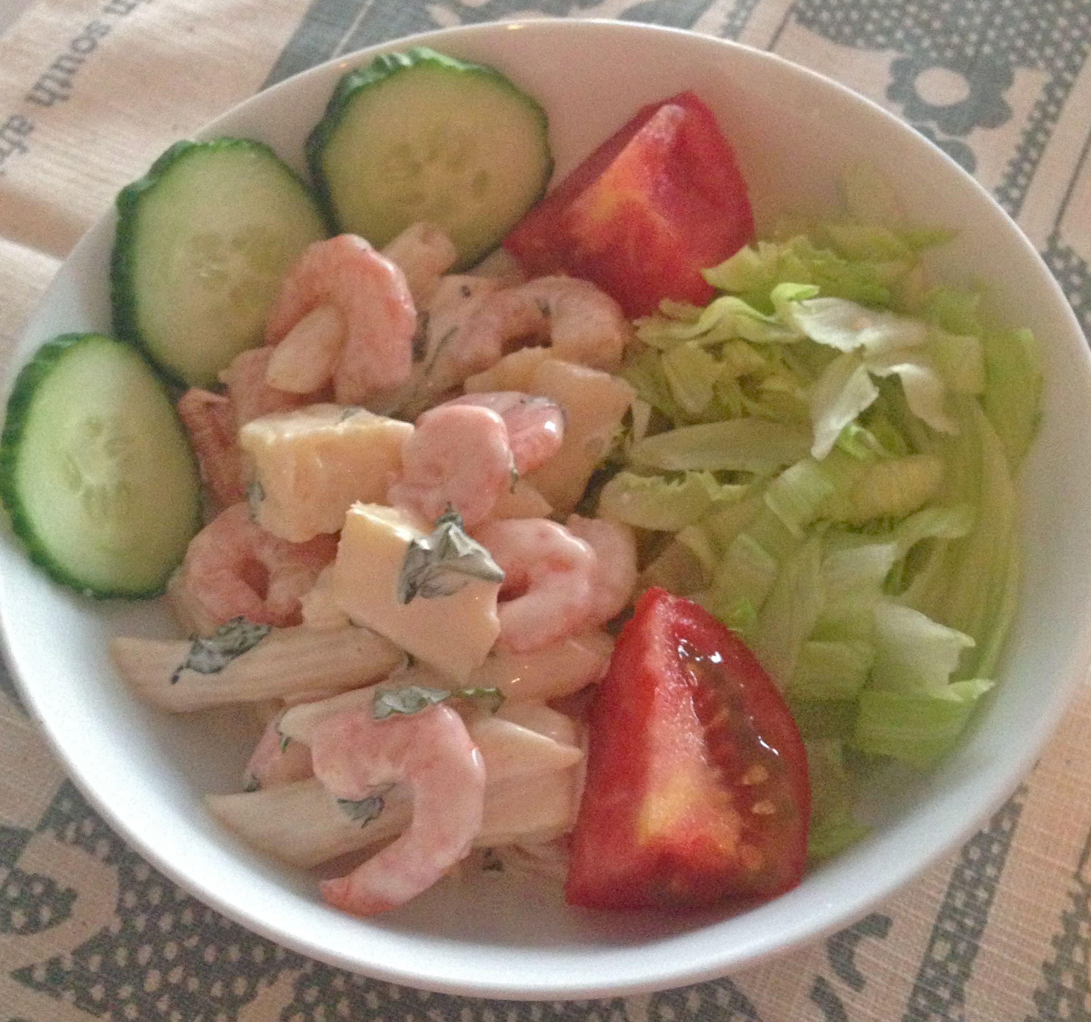 Recipe prawn pasta and pineapple salad eating covent for Prawn and pasta salad recipes